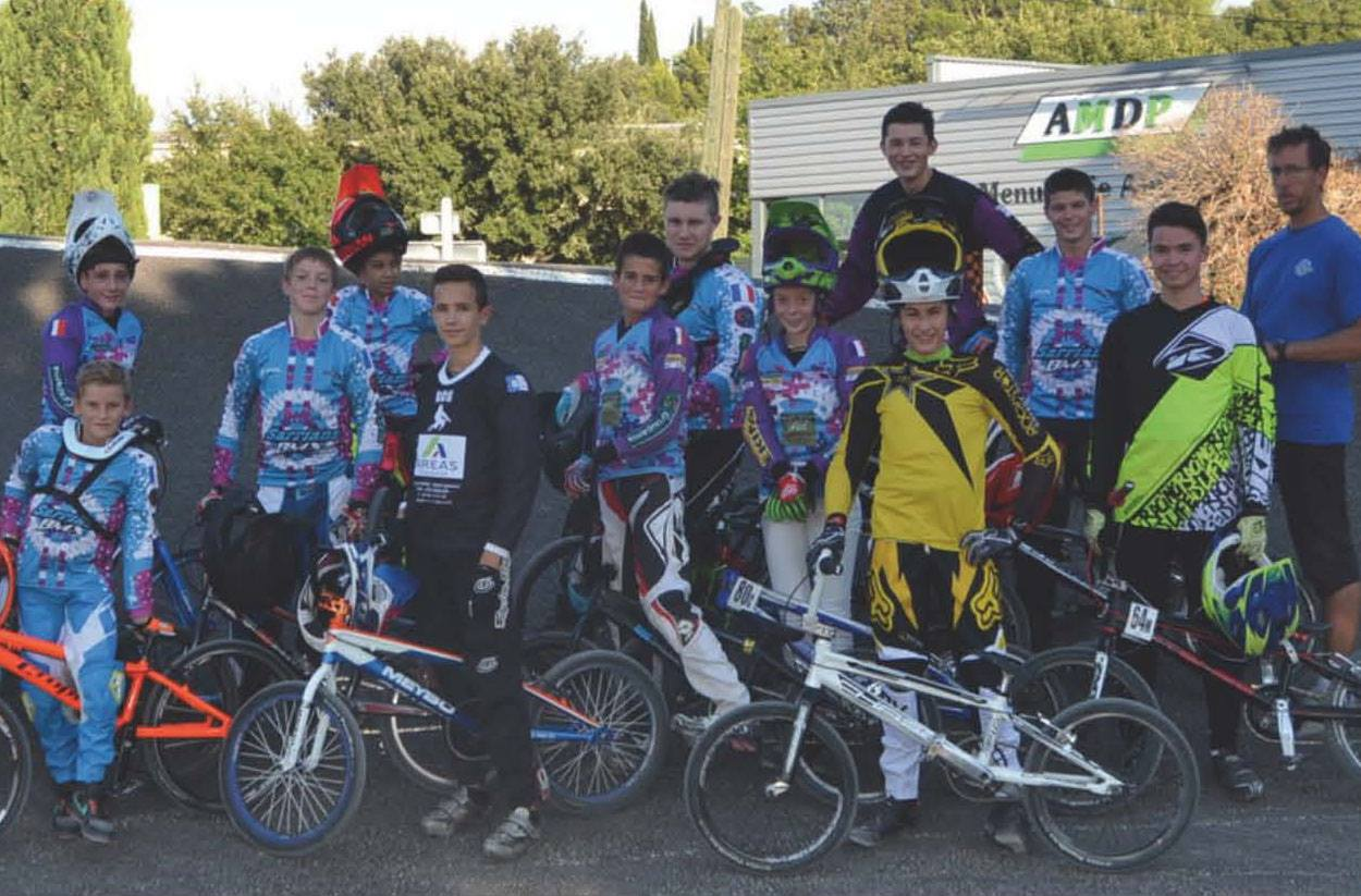 course bmx sarrians